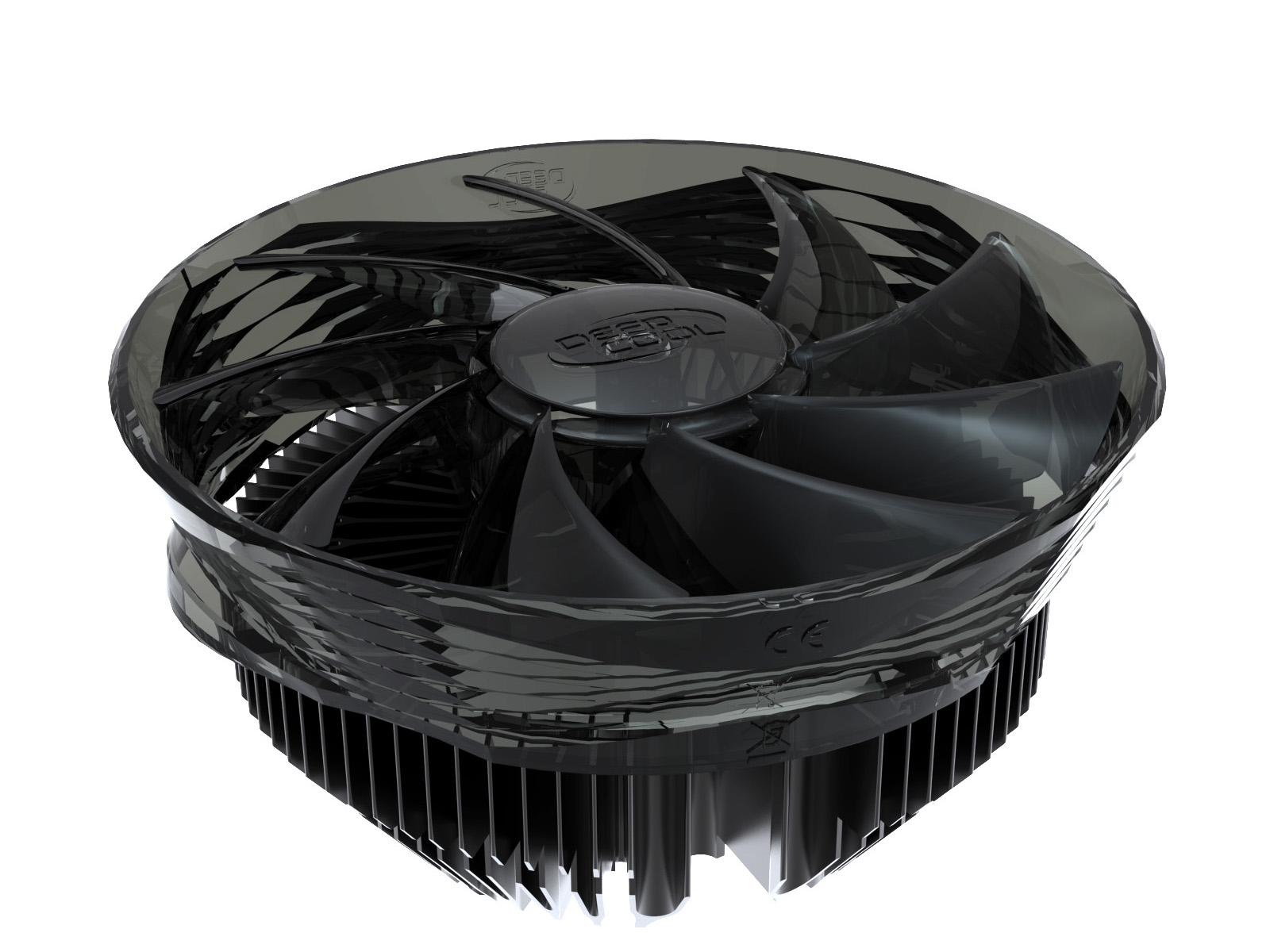 Deepcool Gamma Blade CPU Cooler (1155/1156/775, AM3/2+, 939) with Silent 120mm Fan