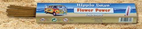 Incense - Flower Power - Hippie Days, 12 Sticks, 15g