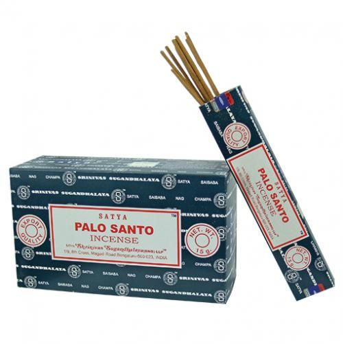 Incense - Palo Santo - Satya 15 gram (Approx 12 sticks)