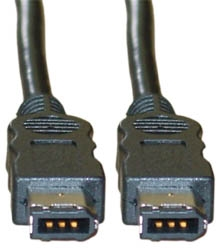 Firewire IEEE 1394A Cable 6P-6P 2m