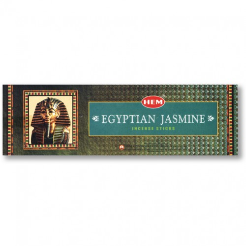 Incense - Egyptian Jasmine - 8 Sticks, Hem, Square Pack