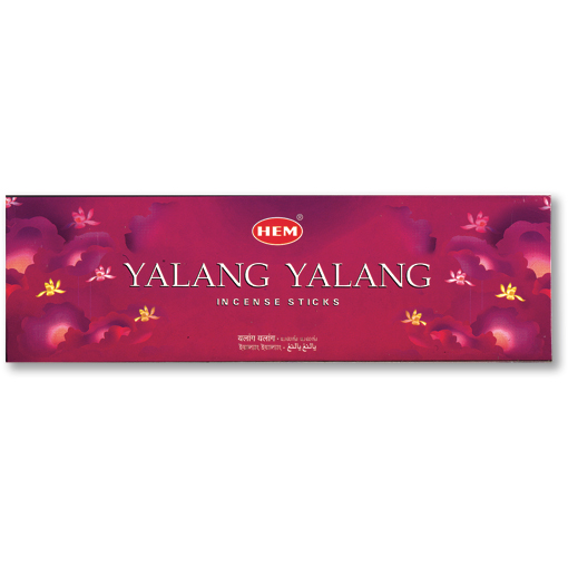 Incense - Ylang Ylang - 8 Sticks, Hem, Square Pack