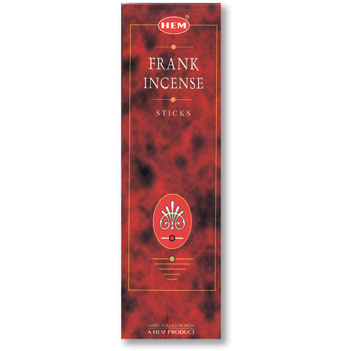 Incense - Frankincense - 8 Sticks, Hem, Square Pack