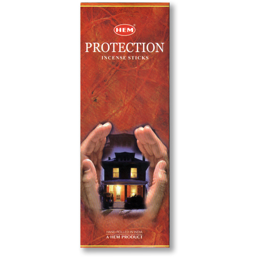 Incense - Protection - 8 Sticks, Hem, Square Pack