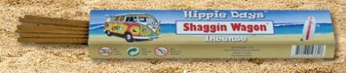 Incense - Shaggin Wagon - Hippie Days, 12 Sticks, 15g