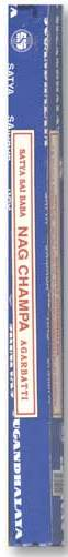 Incense - Nag Champa - 8 Sticks, Square Pack