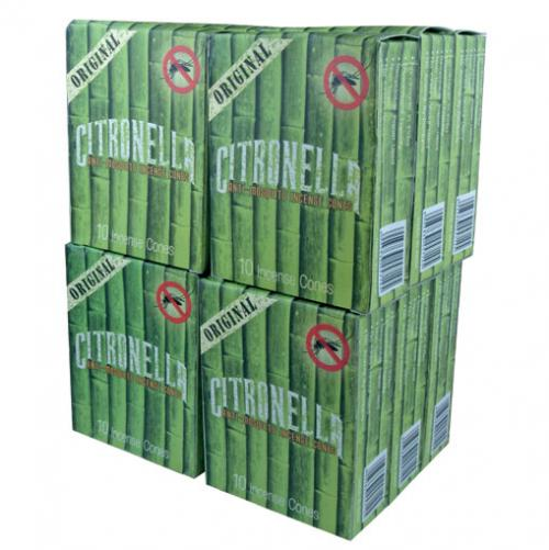 Incense Cones - Citronella - R Expo 10 Cones per Packet