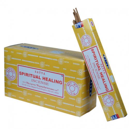 Incense - Spiritual Healing - Satya 15 gram (Approx 12 sticks)