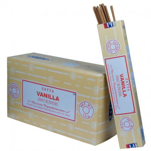 Incense - Vanilla - Satya 15 gram (Approx 12 sticks)