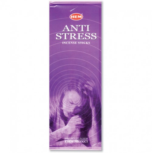Incense - Anti Stress - 20 Sticks, Hem, Hex Pack
