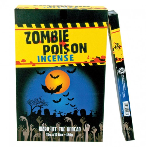 Incense - Zombie Poison - 15g - R Expo