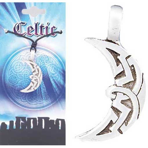 Pewter Celtic Necklace - Style 01