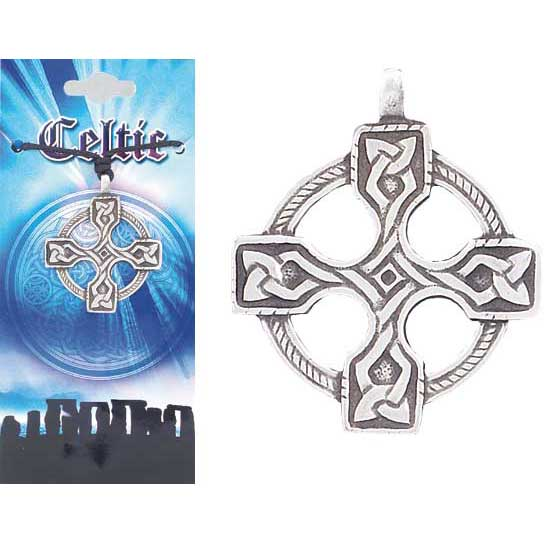 Pewter Celtic Necklace - Style 04