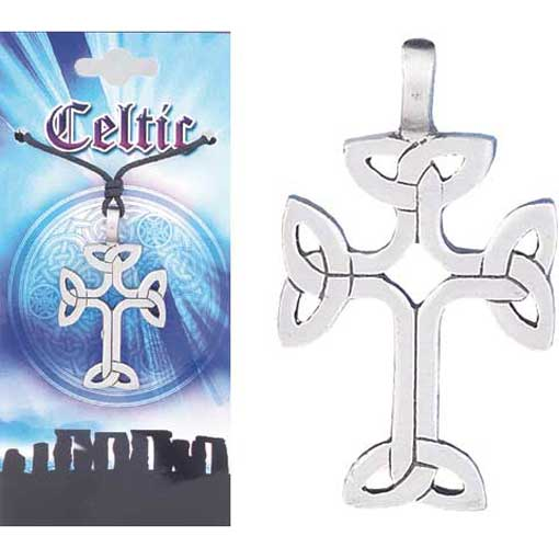 Pewter Celtic Necklace - Style 05