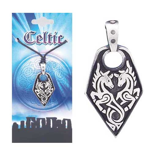 Pewter Celtic Necklace - Style 08