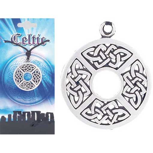 Pewter Celtic Necklace - Style 09