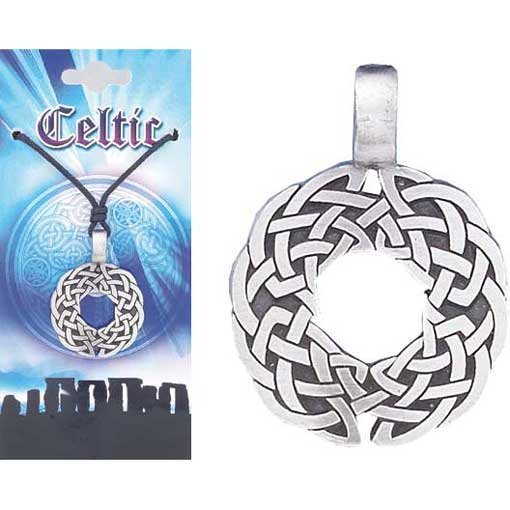 Pewter Celtic Necklace - Style 10