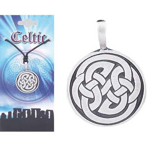 Pewter Celtic Necklace - Style 12